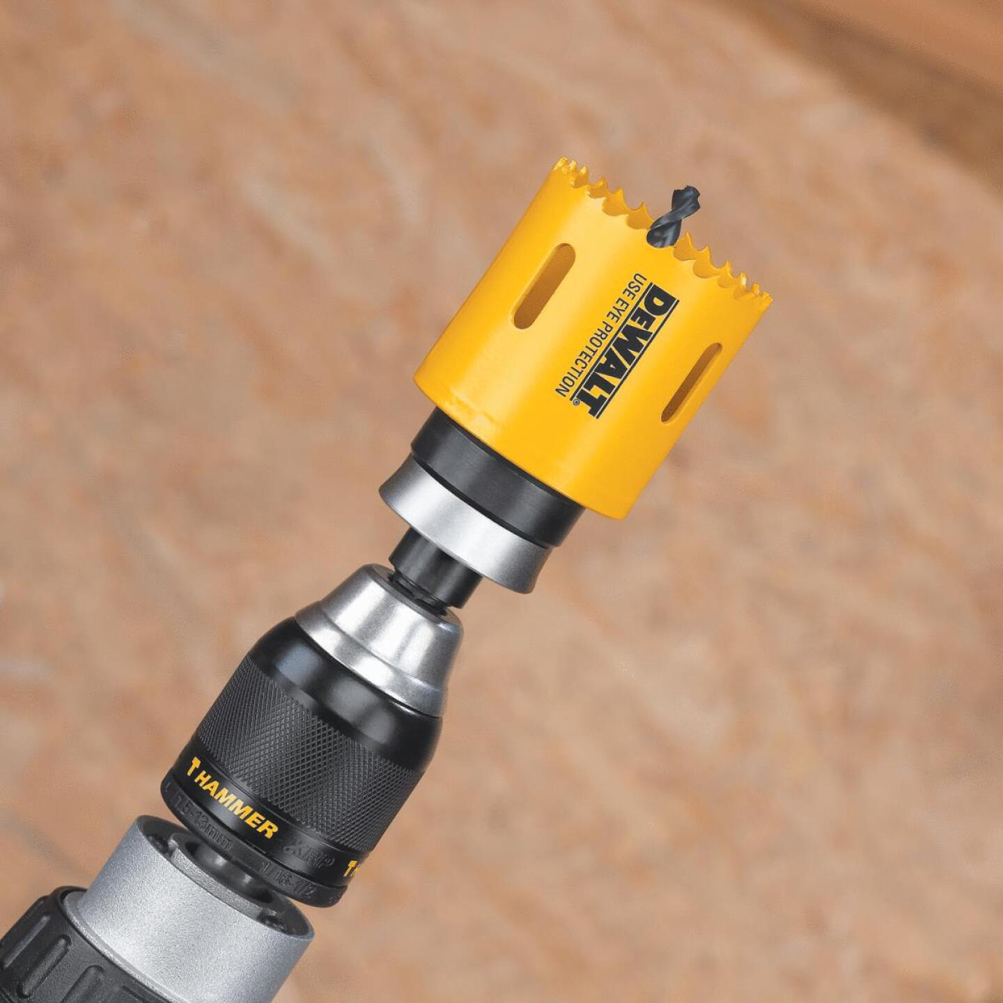 DeWalt 7/16 In. Hex Shank Hole Saw Mandrel Fits Hole Saws Fits Hole Saws 1-1/4 In. to 6 In. Image 3