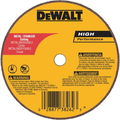 DeWalt HP Type 1, 4 In. Cut-Off Wheel