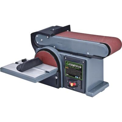 Genesis 4 In. x 36 In. Belt Sander and 6 In. Disc