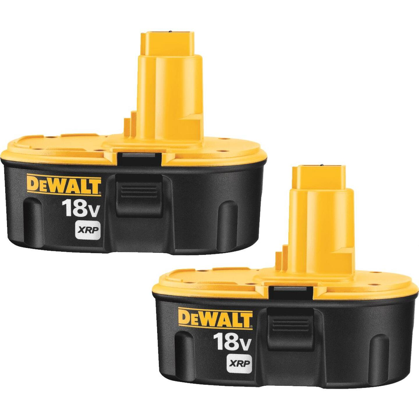 DeWalt 18 Volt XRP Nickel-Cadmium 2.4 Ah Tool Battery (2-Pack) Image 1