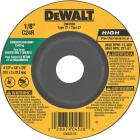 DeWalt HP Type 27 4-1 In. x 1/8 In. x 7/8 In. Masonry Cut-Off Wheel Image 1