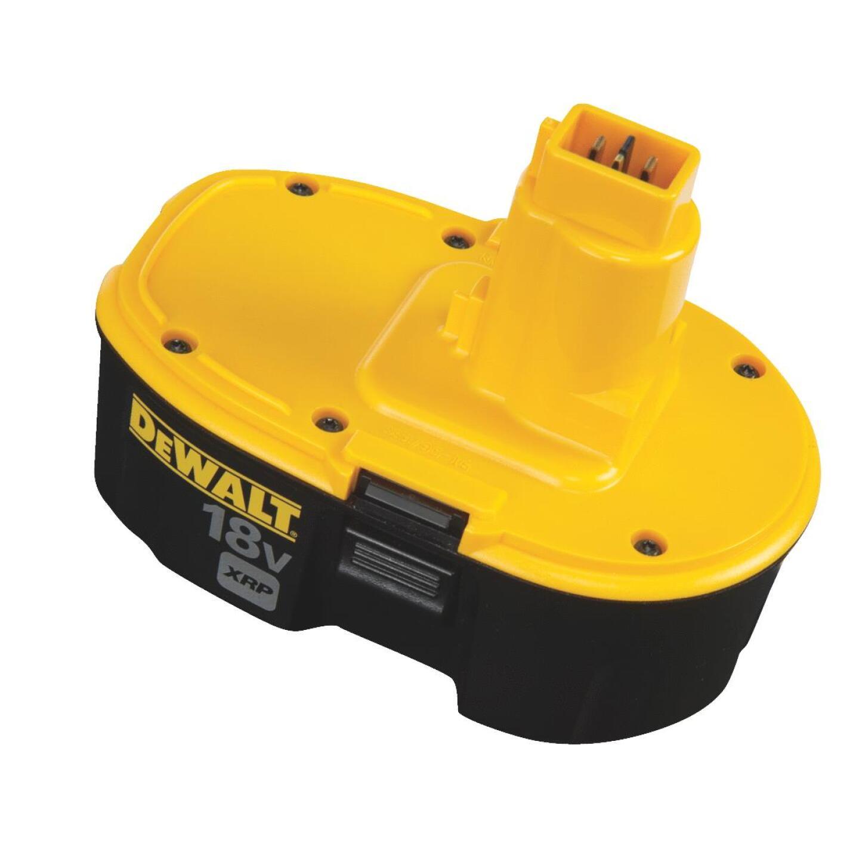 DeWalt 18 Volt XRP Nickel-Cadmium 2.4 Ah Tool Battery Image 2