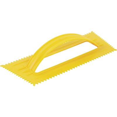QLT 1/4 In. Disposable V-Notched Trowel