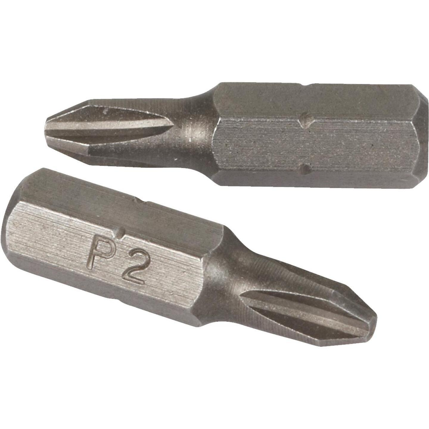 1 In. Phillips No. 2 Drywall Insert Bit Image 3