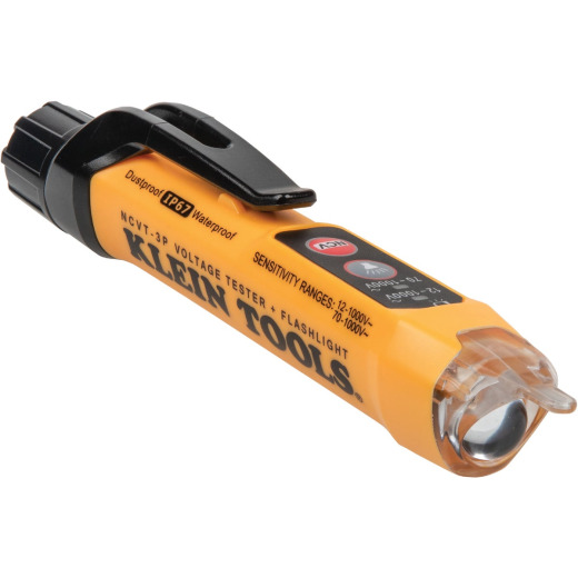 Klein Dual Range Non-Contact Voltage Tester with Flashlight