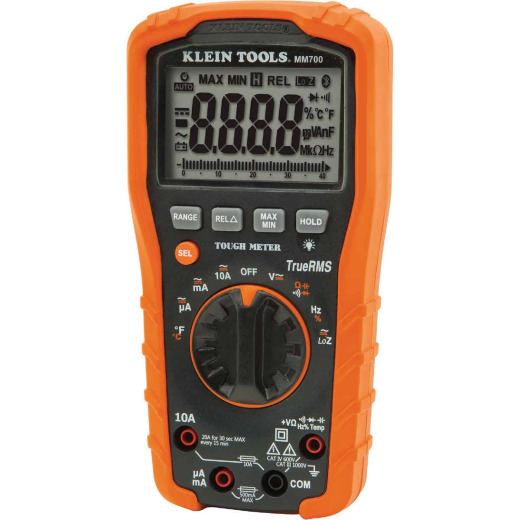 Klein 8-Function Auto Ranging Digital Multimeter