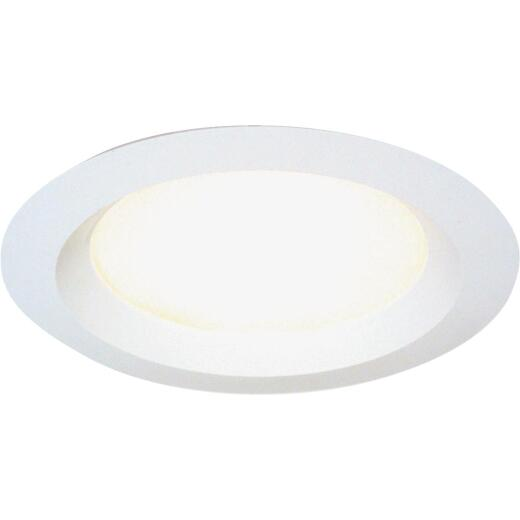 Thomas 6 In. White Enclosed Recessed Fixture Trim