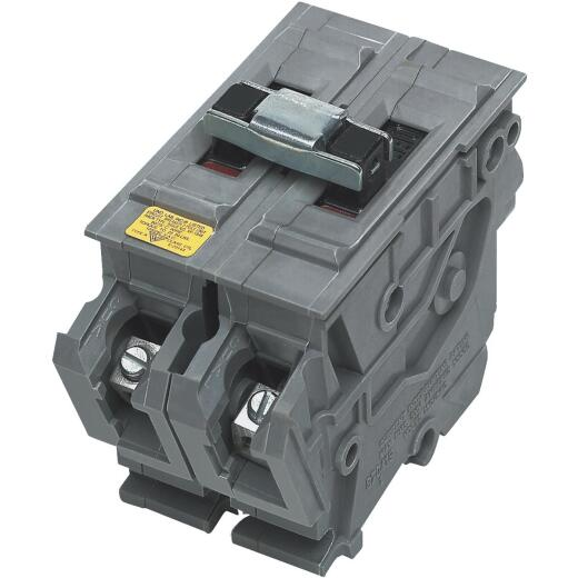 Connecticut Electric 50A Double-Pole Standard Trip Packaged Replacement Circuit Breaker For Wadsworth