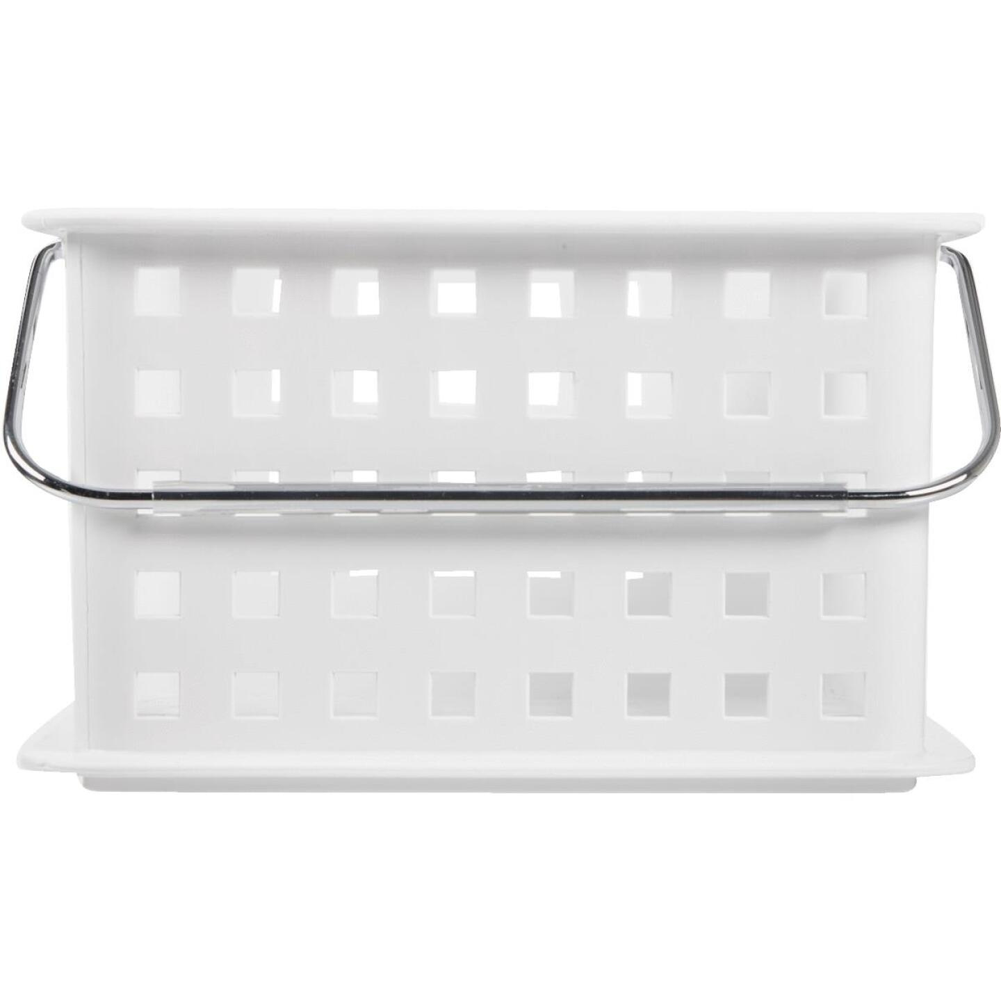 InterDesign Small White Plastic Basket Image 2