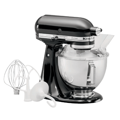 KitchenAid Artisan Series 10-Speed Black Stand Mixer
