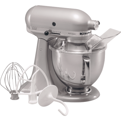 KitchenAid Artisan Series 10-Speed Chrome Stand Mixer