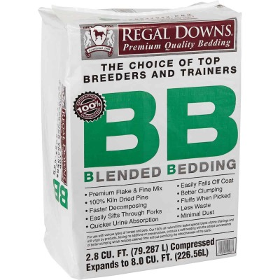 Regal Downs 2.5 Cu. Ft. Blended Bedding Stall Shavings
