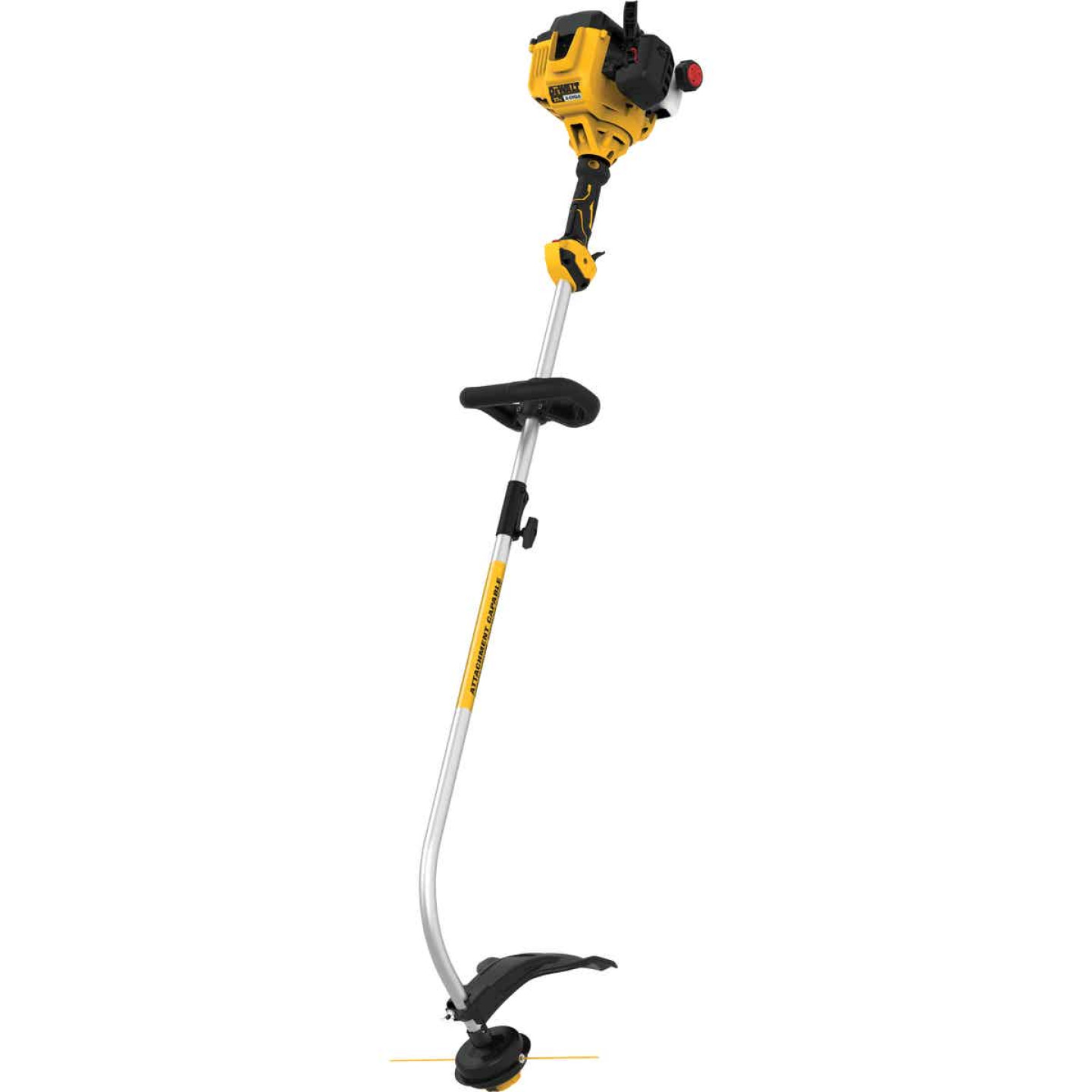 DeWalt Trimmer Plus 27cc 2-Cycle 17 In. Curve Shaft Gas String Trimmer Image 1