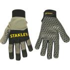 Stanley Men's XL Synthetic Leather Silicone Grip High Performance Glove Image 1