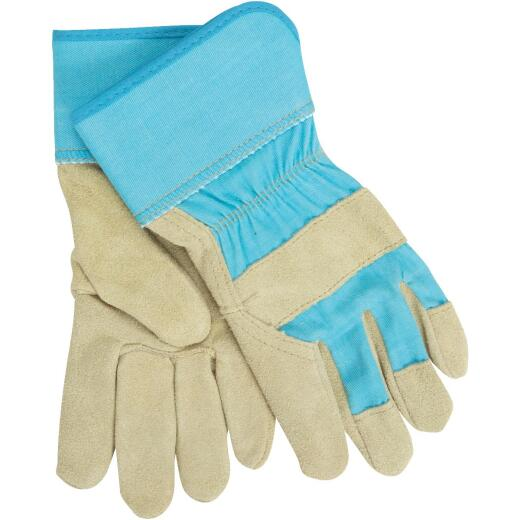 West Chester Protective Gear Dirty Work Women's Small Leather Work Glove