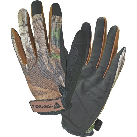 West Chester Protective Gear Realtree Xtra Men's Large Synthetic Leather High Dexterity Work Glove