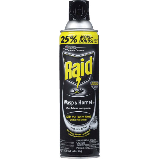 Raid 17.5 Oz. Liquid Aerosol Spray Wasp & Hornet Killer