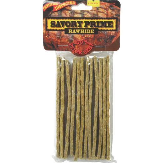 Savory Prime Chicken Strips 5 In. Rawhide Chew, (12-Pack)
